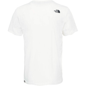 The North Face Woodcut Dome SS Tee Men white/black